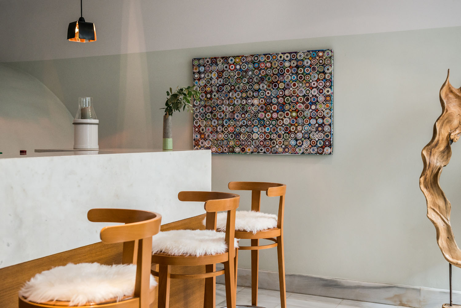Wall Decoration of the Bar