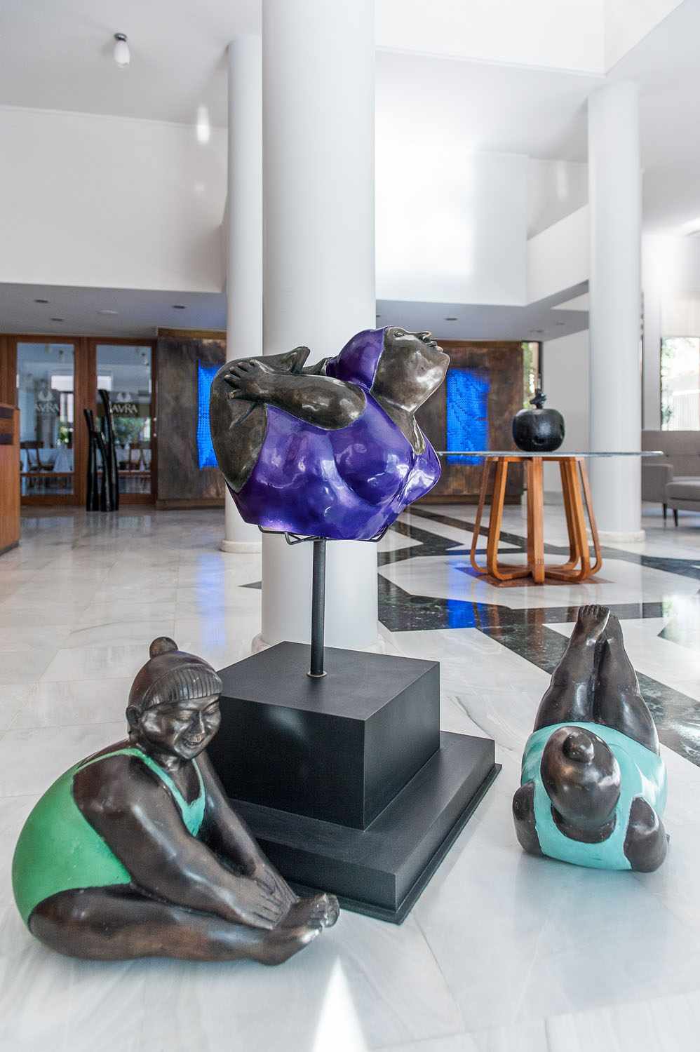 Art and decoration of the Lobby