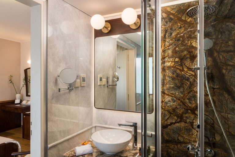 Standard Room Bathroom View
