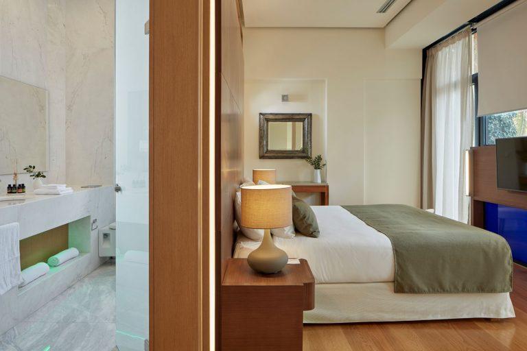 Superior Room Bedroom and Bathroom