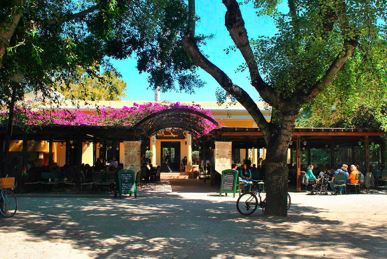Cafeteria Inside the gardens