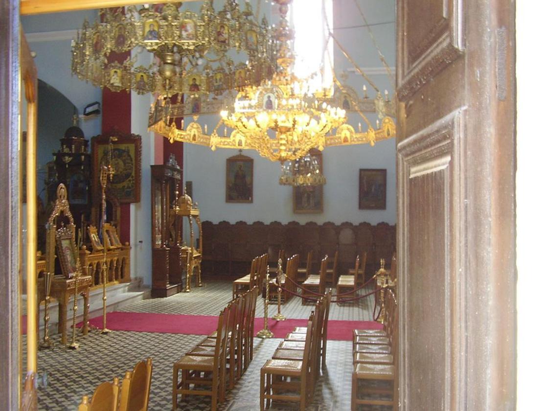 Inside view of St. Nikolaos