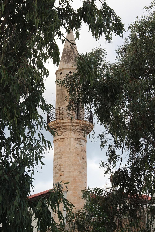 Minaret between the trees