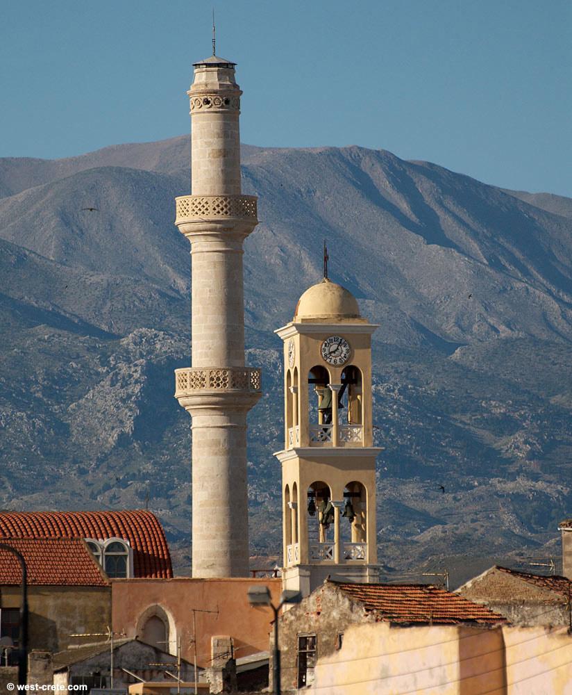 Distant view of Minaret