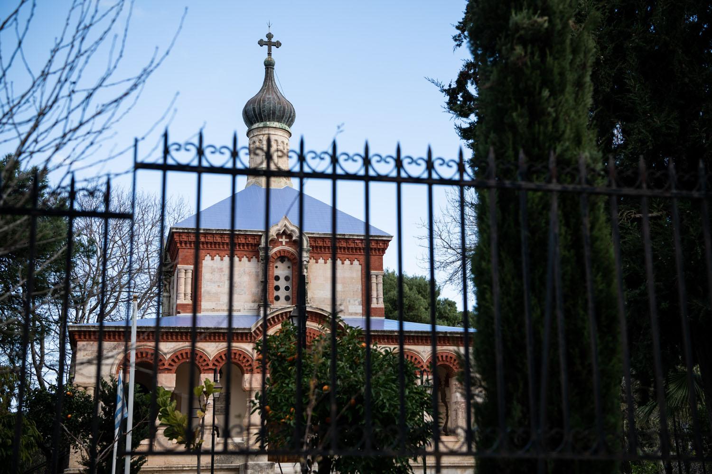 Outside the Church of Agia Magdalini