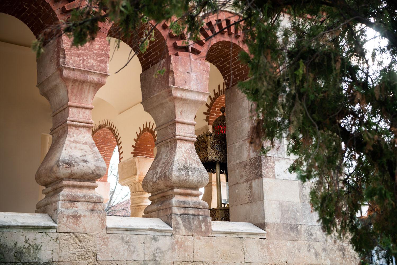 Close up of Church of Agia Magdalini