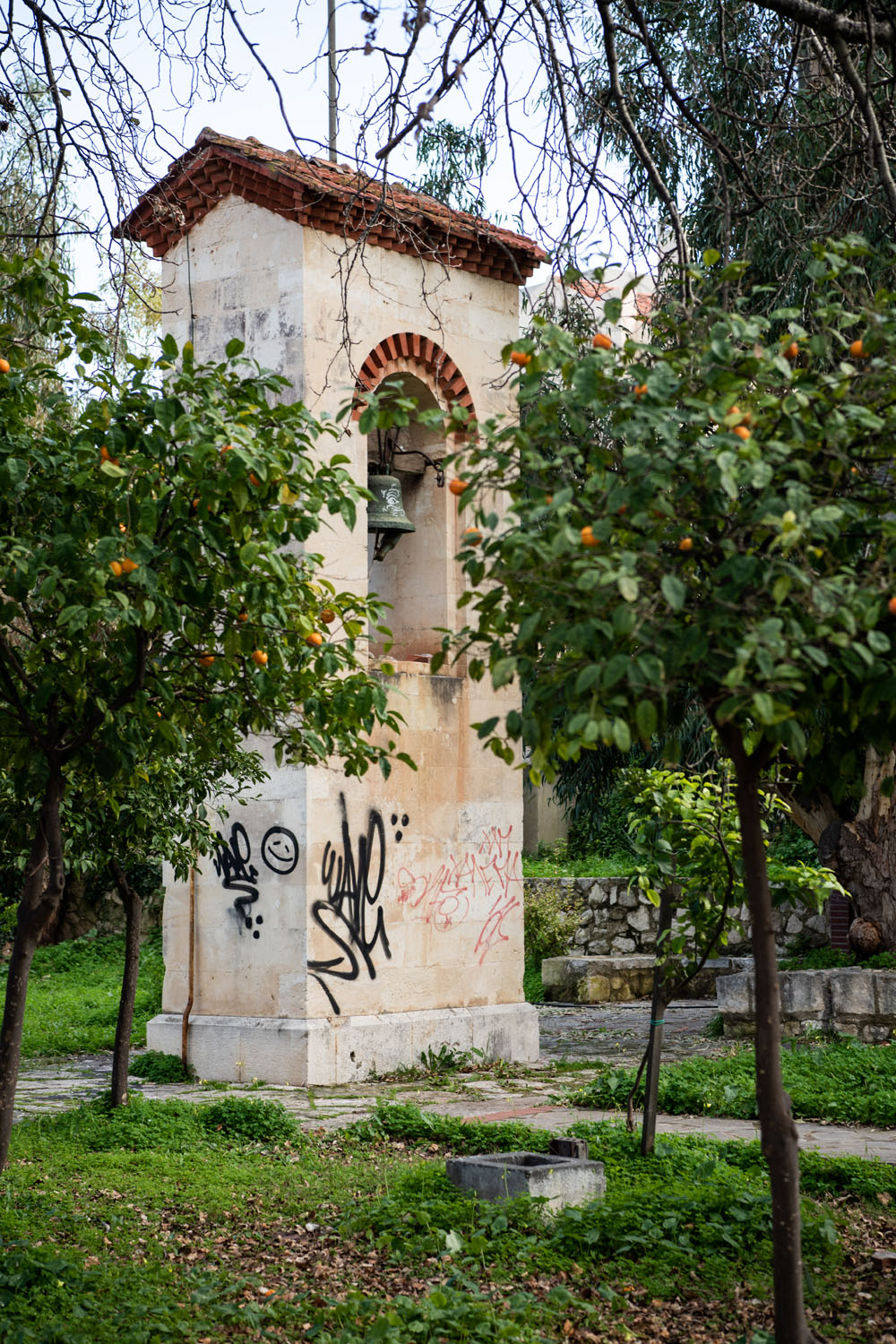 Bell tower of Church of Agia Magdalini