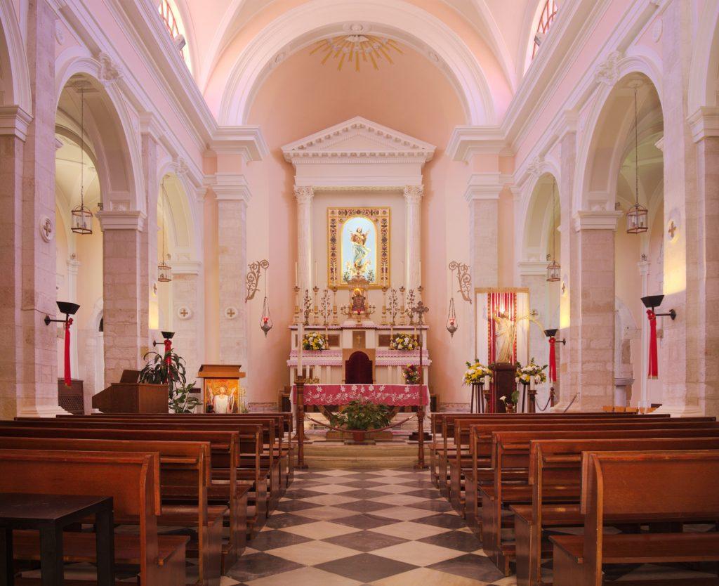 inside the catholic church