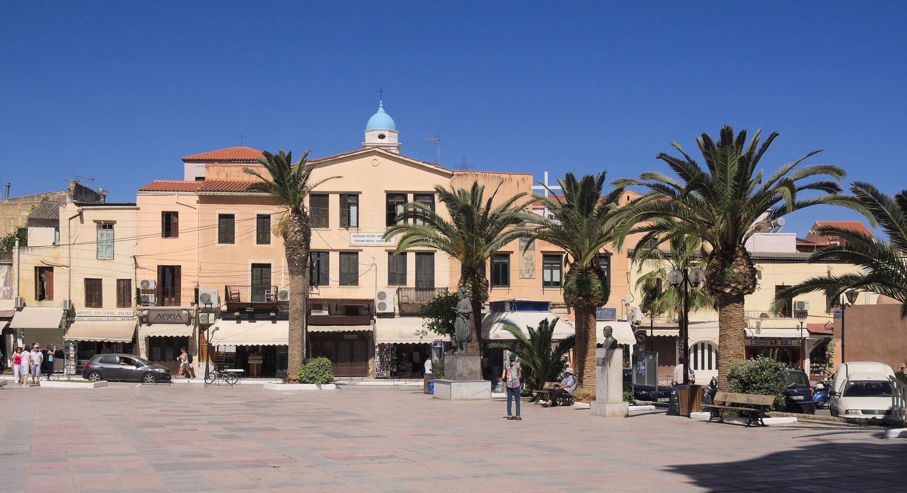 view from the Mitropoli Square