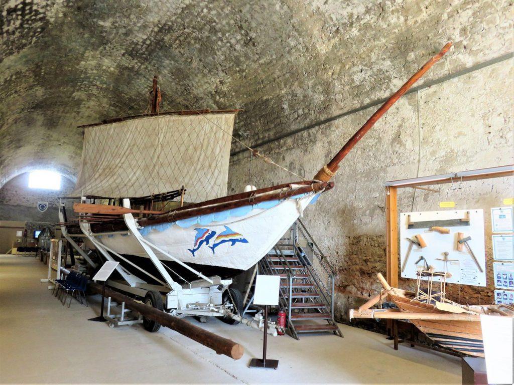 Display of The Minoan Ship
